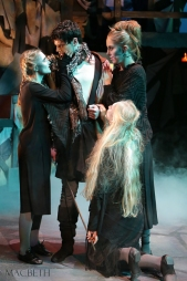 Three witches and Banquo