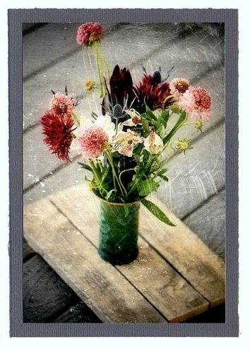 Greeting Cards Vintage FLowers 1
