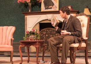 Elwood reading to Harvey 1